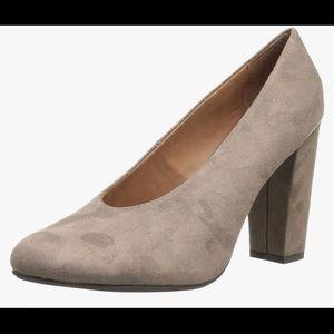 Nicole Banyan chunky heels.